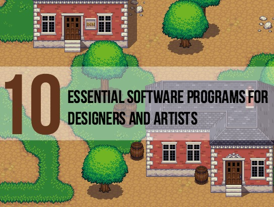 10 Sorftware Programs for Designers - Main